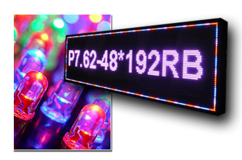 Semi Outdoor LED Signs