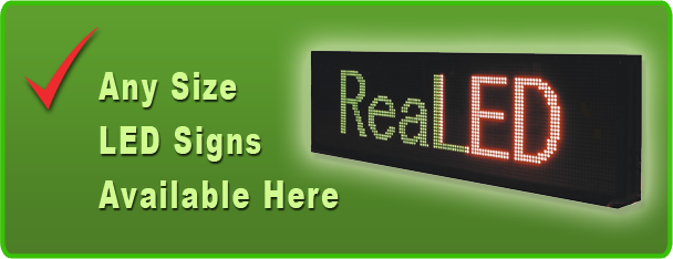 Indoor, Outdoor and Semi Outdoor LED Signs Toronto